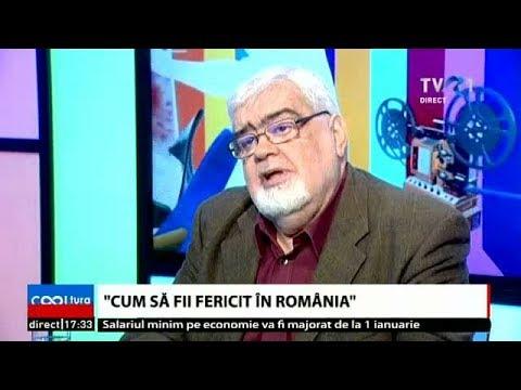 Cum să fii fericit în România? - Interviu cu Andrei Pleșu (@TVR1)