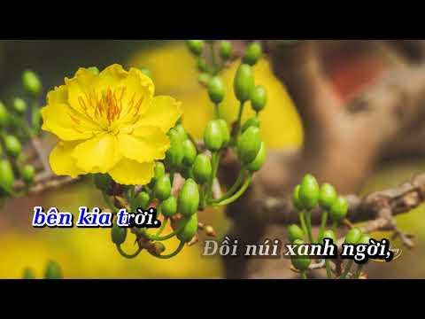 KARAOKE Nắng Có Còn Xuân   Quang Dũng