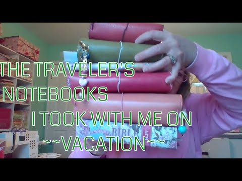 Traveler's Notebook Journaling While on Vacation