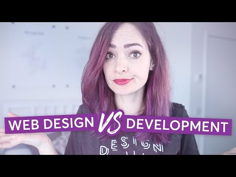 Web design & web development – What's the difference? | CharliMarieTV