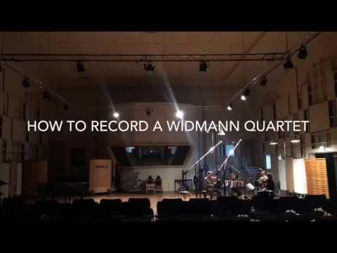 How to record a Widmann quartet (Signum Quartet)