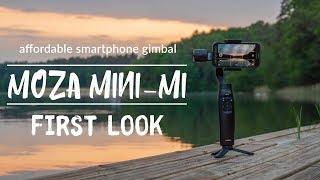 Affordable Smartphone Gimbal Moza Mini-Mi - First Look