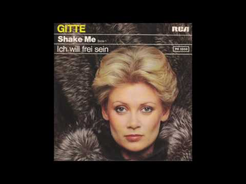 Gitte - Shake Me (1977) Superb Sound!
