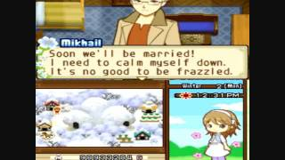 Harvest Moon Tale of Two Towns Proposal and Marriage to Mikhail