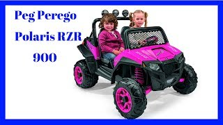 Peg Perego Polaris RZR 900 Ride On Pink, From Baby Toys