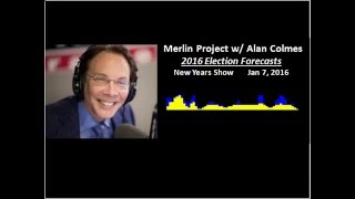 2016 Election Forecast -- TimeTraks on Alan Colmes Show 1/7/16 Merlin Project