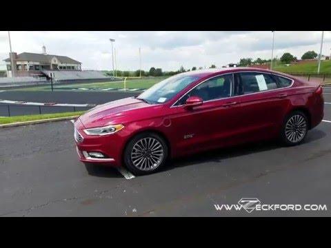 2017 Ford Fusion Energi - Plug In Hybrid