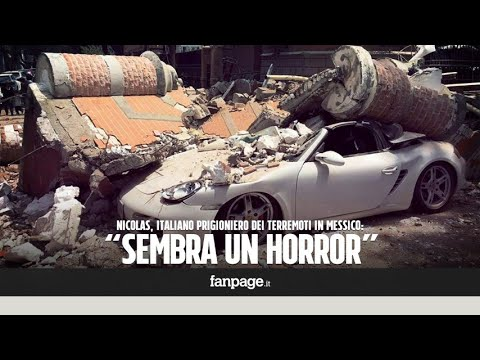 """Terremoto in Messico, l'incubo di un italiano: """"Crollano edifici, sembra un film horror"""""""