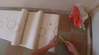видео Как клеить виниловые обои