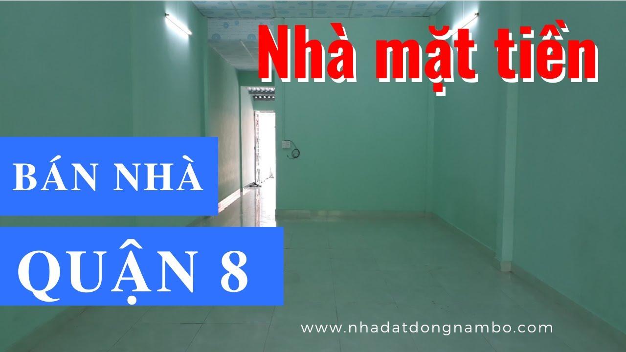 Bán Nhà Mặt Tiền Trịnh Quang Nghị Phường 7 Quận 8 Dưới 4 Tỷ Mới Nhất 2020. DT 4x20m