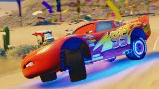 Cars 3 Movie Game - Walkthrough Part 2 - Destruction Derby
