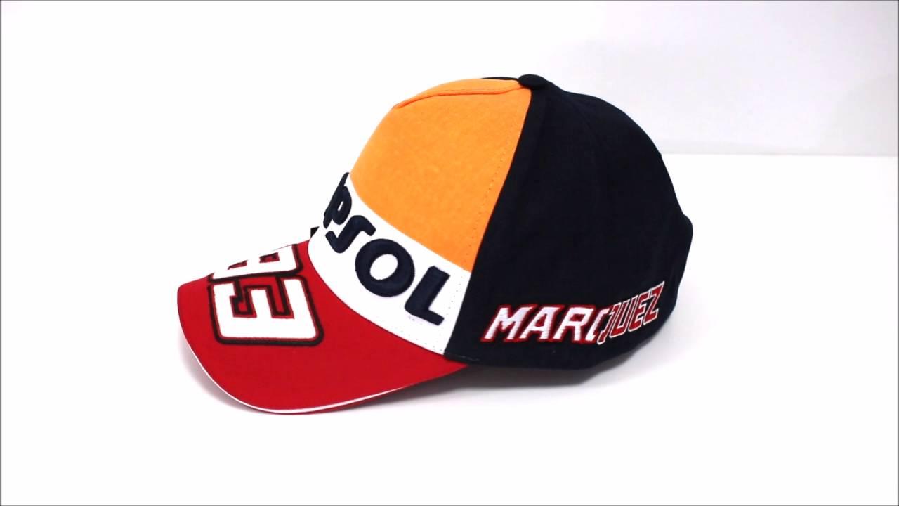 b39c496bbb893 Gorra Marc Marquez Oficial Repsol 93 - YouTube
