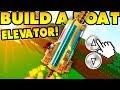 ELEVATOR in Build a Boat!! (u can CONTROL IT!)