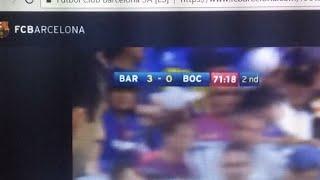 Live Streaming Barcelona Vs Boca Junior Trofeo Joan Gamper