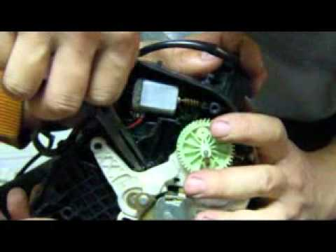 Benz W211 Door Lock Latch Actuator Repair 01 Flv Youtube