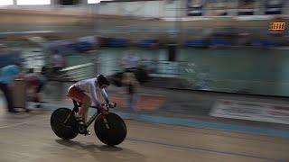 Контрольные старты спортсменов сборной России по велоспорту на треке