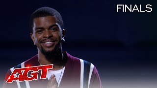 Brandon Leake Delivers Emotional Spoken Word to His Daughter - America's Got Talent 2020