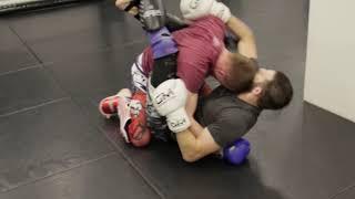 Mixed martial arts training Alexey Gannenko