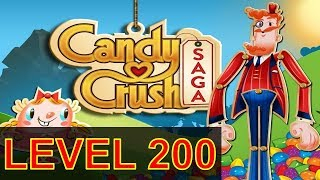 Candy Crush Saga Level 200 Without boosters