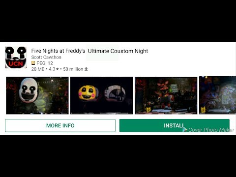 fnaf ultimate custom night apk ios