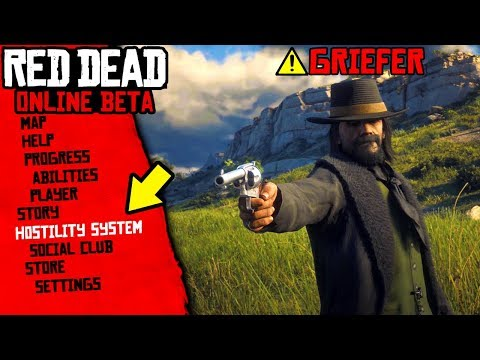 New HOSTILITY SYSTEM & Anti Griefing Measures! New Red Dead Online DLC Update Information! (RDR2)