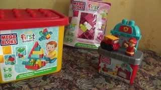 Обзор Конструктор Mega Bloks First builders для мальчиков и девочек