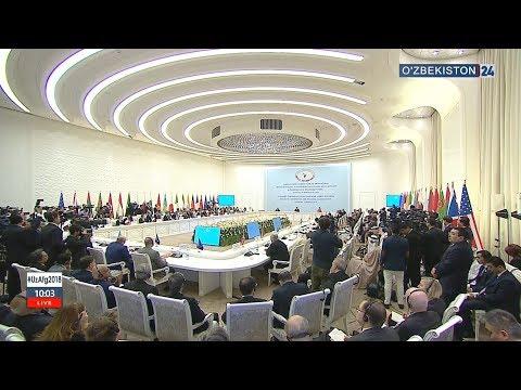 Prezident Shavkat Mirziyoyev ishtirokidagi Afg`oniston bo`yicha Toshkent Xalqaro Konferensiyasi