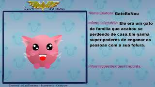as SUAS CRIATURAS! - Evento Criaturow | Chanime Canal Ilustranimal