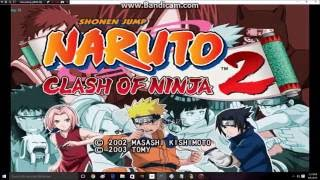 (Old School Games) Naruto Clash Of Ninja 2