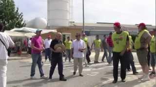apoyo del pca e iu a los trabajadores de crown embalajes