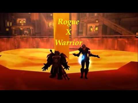 Warmane : Rogue / Warrior TBC arena |