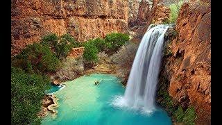 Som de cachoeira para relaxar, dormir ou meditar