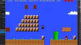 C++ OOP Project - Super Mario Bros platform game