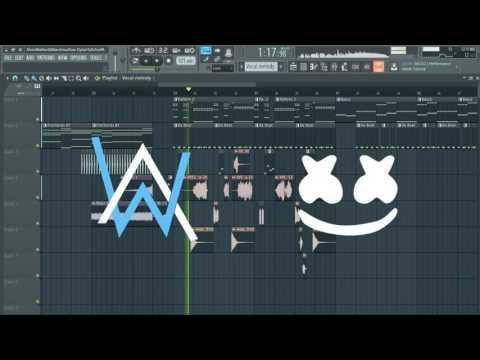 Alan Walker Sing Me To Sleep Marshmello Remix Remake Flp