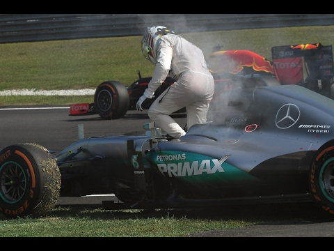 Lewis Hamilton's Engine Fails | Malaysian Grand Prix 2016