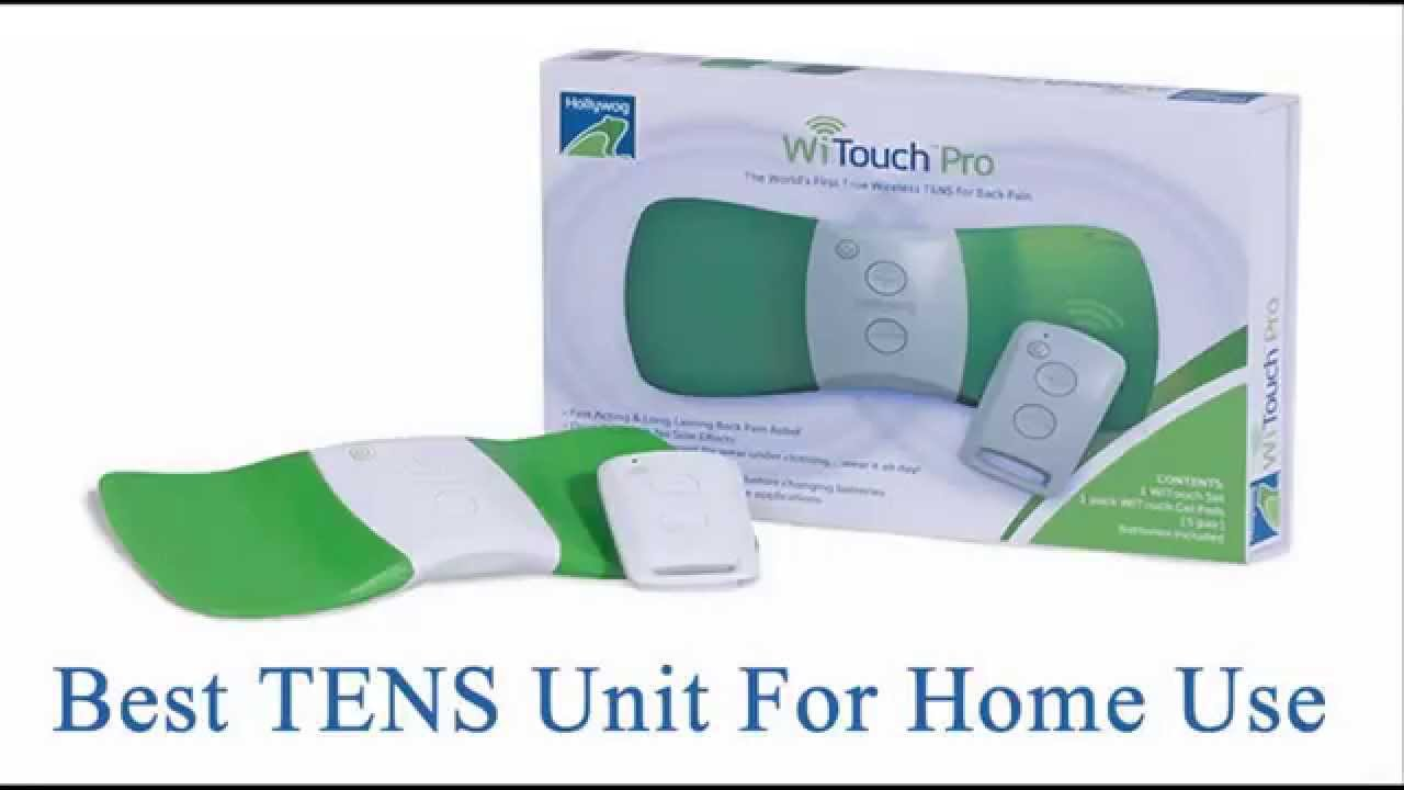 Best TENS Unit For Home Use