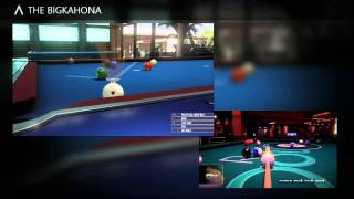 pool nation fx  v.s  pure pool
