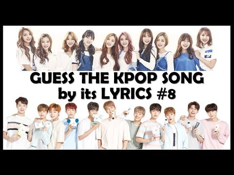 Guess the Kpop Song by its Lyrics #8
