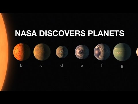 Image result for 7 NEW EXOPLANETS DISCOVERED