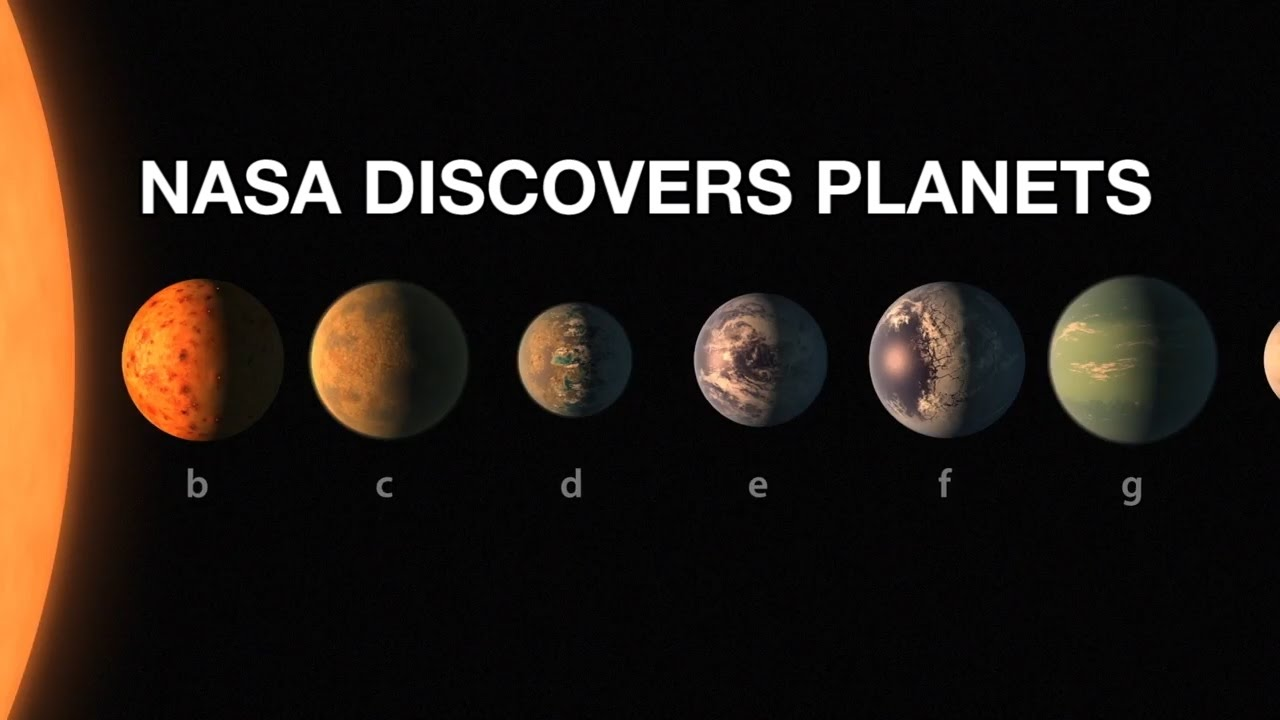 Exoplanet Discovery NASA Announcement 7 New Earths ...