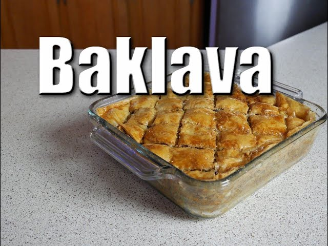 Baklava   Baking With ChefJohnReed