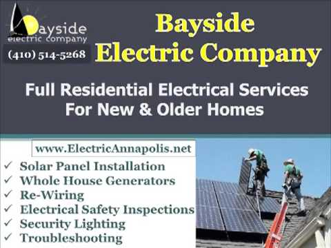 Electrician Annapolis | Bayside Electric Company - 410-514-5628
