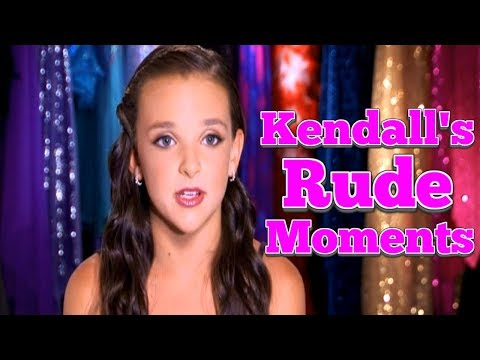 Thumbnail: Dance Moms: Kendall Vertes's RUDE Moments PART 1