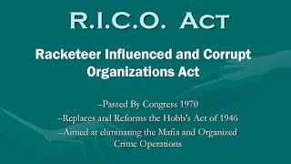Are Republicans in Violation of the RICO Act?