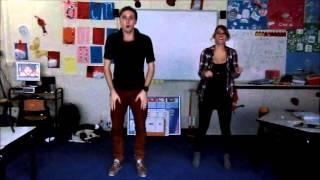 Instructie flashmob - Zwarte pieten stijl