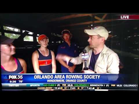 Orlando Area Rowing Society (OARS) Fox 35 Story