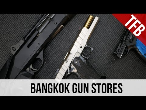 The Bangkok Gun District in Thailand