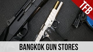 The Bangkok Gun District in Thailand