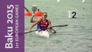 serbia win the women s k2 500m kayak sprint   canoe sprint   baku 2015