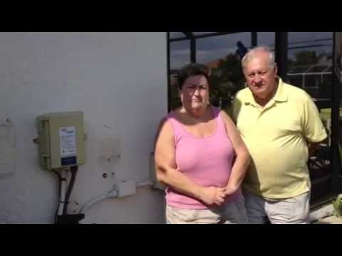 Happy Fafco Solar Pool Heating Customers Tell About Their New Solar Pool Heater